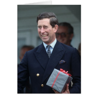 HRH The Prince of Wales Card