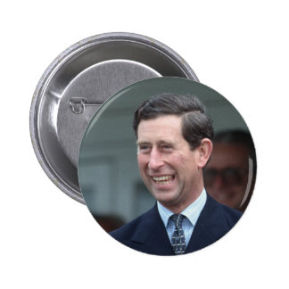 HRH The Prince of Wales Pinback Button