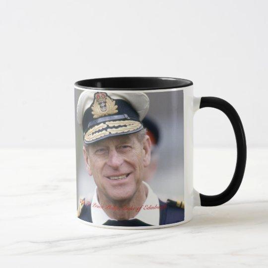 HRH The Prince Philip, Duke of Edinburgh Mug