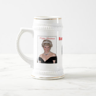 HRH The Princess of Wales Christmas Beer Stein