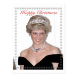 HRH The Princess of Wales Christmas Post Card