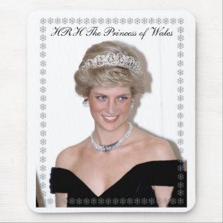 HRH The Princess of Wales Joyeux Noël Mousemat