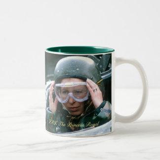 HRH The Princess Royal 1985 Two-Tone Coffee Mug