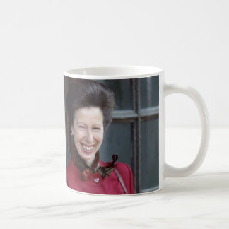 HRH The Princess Royal Classic White Coffee Mug