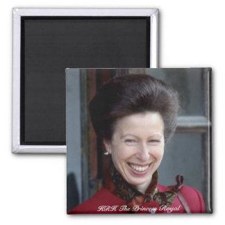HRH The Princess Royal Refrigerator Magnet