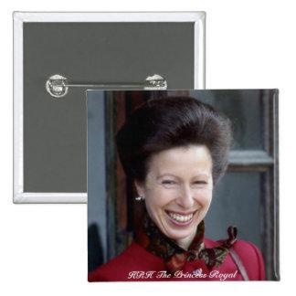 HRH The Princess Royal Pinback Buttons