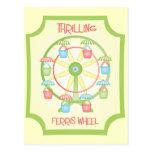 hrilling Ferris Wheel Postcards