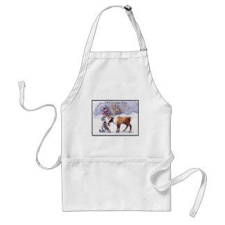hristmas adult apron