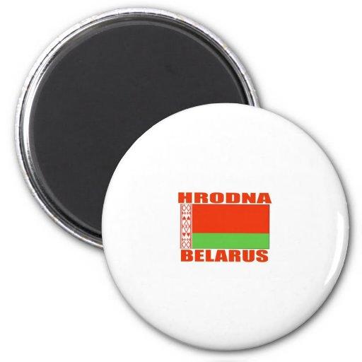 Hrodna, Belarus 2 Inch Round Magnet