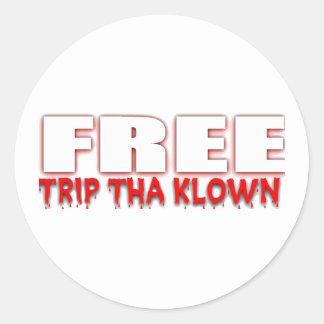 HRR-Free Trip T Classic Round Sticker