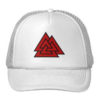 Hrungnir's Heart (red & black) Trucker Hat