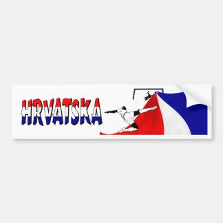 Hrvatska Bumper Sticker