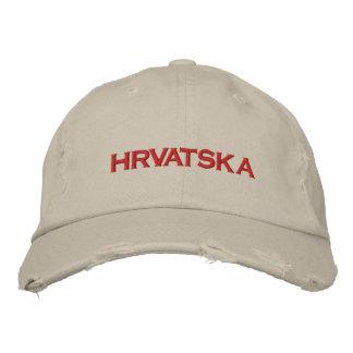 HRVATSKA EMBROIDERED HATS