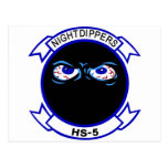 HS-5 Nightdippers Postales