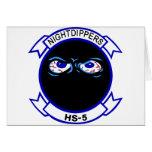 HS-5 Nightdippers Tarjeta