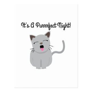H's G Purrfect Night! Post Cards