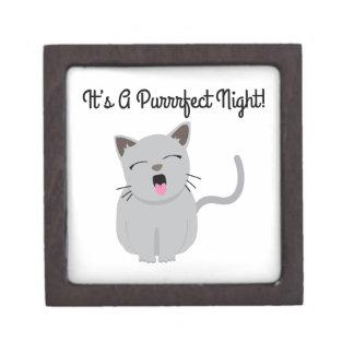 H's G Purrfect Night! Premium Keepsake Box