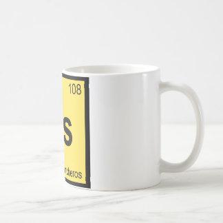 Hs - Huevos Rancheros Chemistry Periodic Table Coffee Mug