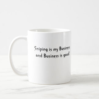 [HS]-logo, Sniping is my Business,and Business ... Coffee Mug