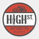 HSA Logo Classic Round Sticker