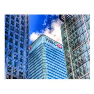 HSBC Tower London Post Card