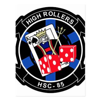 HSC-85 High Rollers Postcard