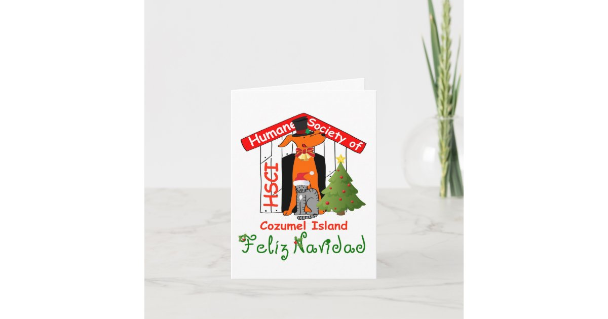 HSCI Christmas Card | Zazzle.com