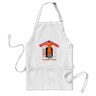 HSCI logo with name Adult Apron