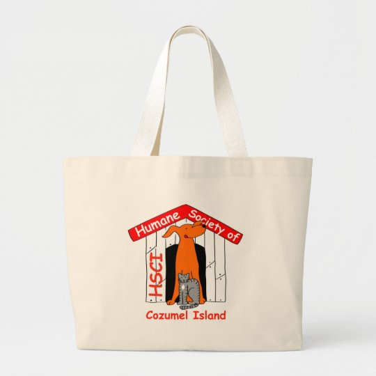 HSCI logo with name Large Tote Bag