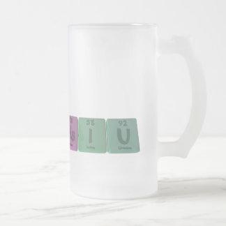 Hsiu as Hassium Iodine Uranium Mug