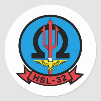 HSL-32 PEGATINA REDONDA