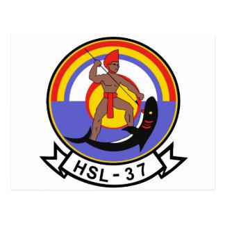 HSL-37 Easy Rider Postcard