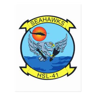 HSL-41 Sea Hawks Postcard