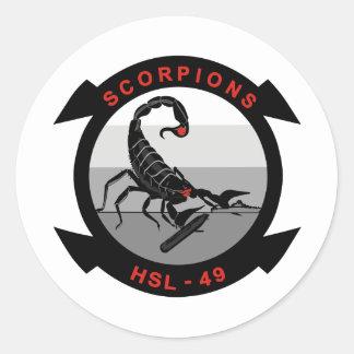 HSL-49 Scorpions Stickers