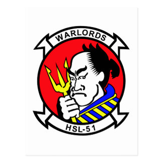 HSL-51 Warlords Post Cards