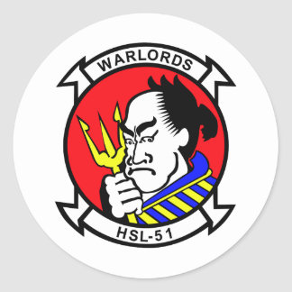 HSL-51 Warlords Stickers