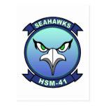 HSM-41 Seahawks Postal