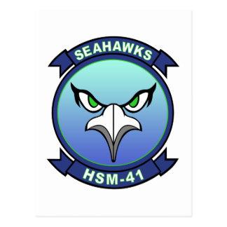 HSM-41 Seahawks Postcard