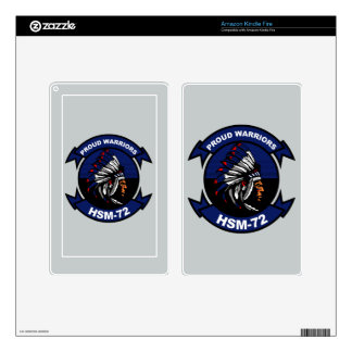 HSM - 72 Proud Warriors Decals For Kindle Fire