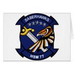 HSM-77 Saberhawks Cards