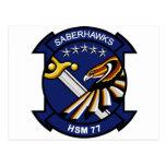 HSM-77 Saberhawks Postcard