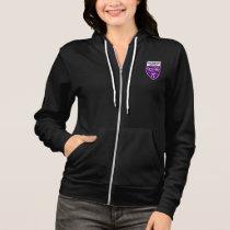 HSMSE Women's Full Zip Hoodie in Black