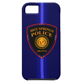 HSPD Patch - Thin Blue Line iPhone 5 Cover
