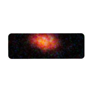 HST ACS WFC3 F606W Image with SN Return Address Label