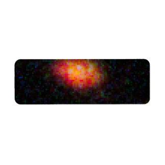 HST ACS WFC3 Image without SN Custom Return Address Labels