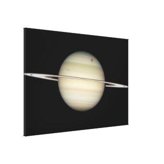 HST Image of Saturn- February 24, 2009 14-25 UT Canvas Print