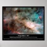 HST Omega Nebula M17 Print