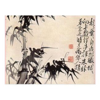 Hsu Wei Bamboo Postcard