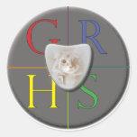 HSWI logo sticker