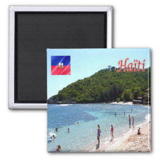 HT - Haiti - Citadelle Laferrière 2 Inch Square Magnet
